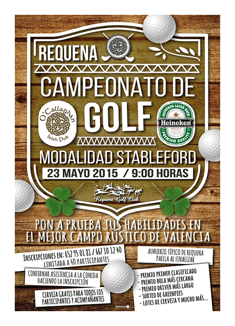 Campeonato golf Requena